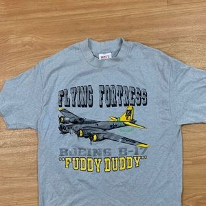"Vintage 80's Flying Fortress ""Fuddy Duddy"" Large"
